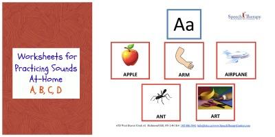 Communication Enhancement Worksheets: Practicing A, B, C, D